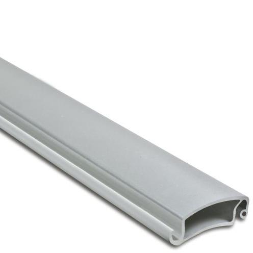 Anodized silver 6063 aluminum roller shutter slat profile