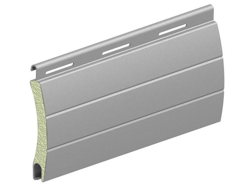 Aluminium shutter roller louver profile for kitchen cabinet