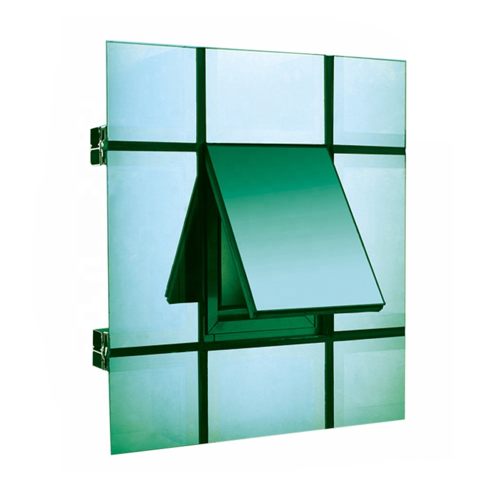 China Factory Price Energy Efficient Insulated Glass curtain wall mullion