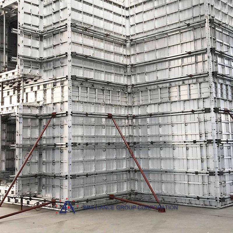 Professional Aluminium extrusion formwork profile and fabrication