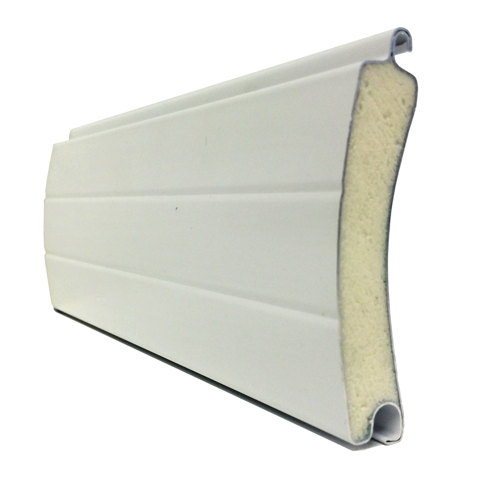 Aluminium roller shutter profiles for balcony window