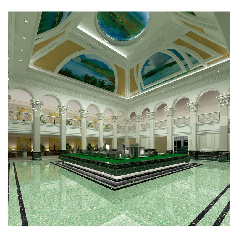 Green quartz stone tile 1200x2400