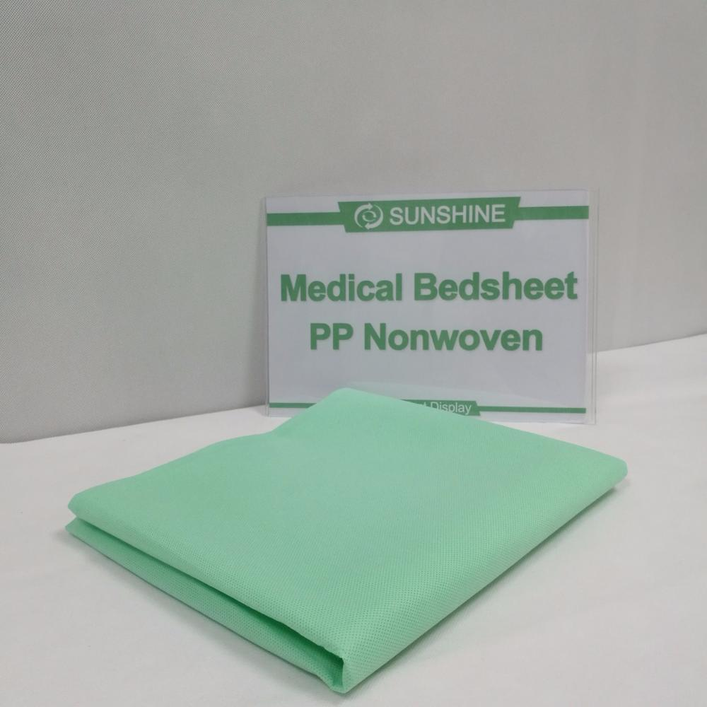 Disposable Hospital Using Nonwoven Sheet