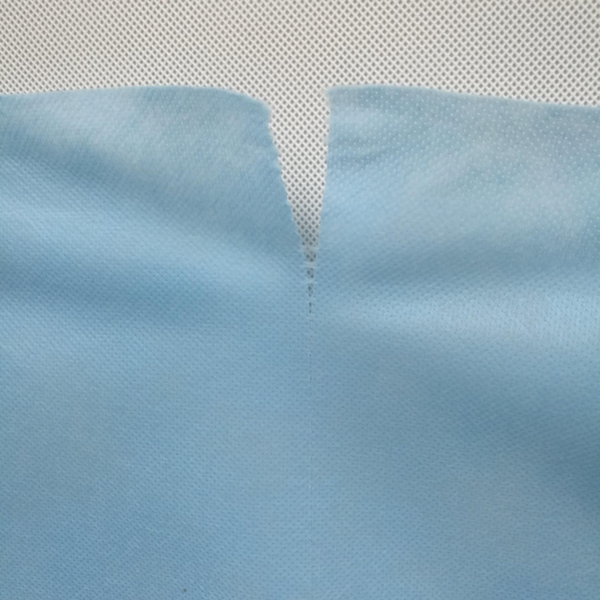 Spunbonded Nonwoven Fabric with Preforated
