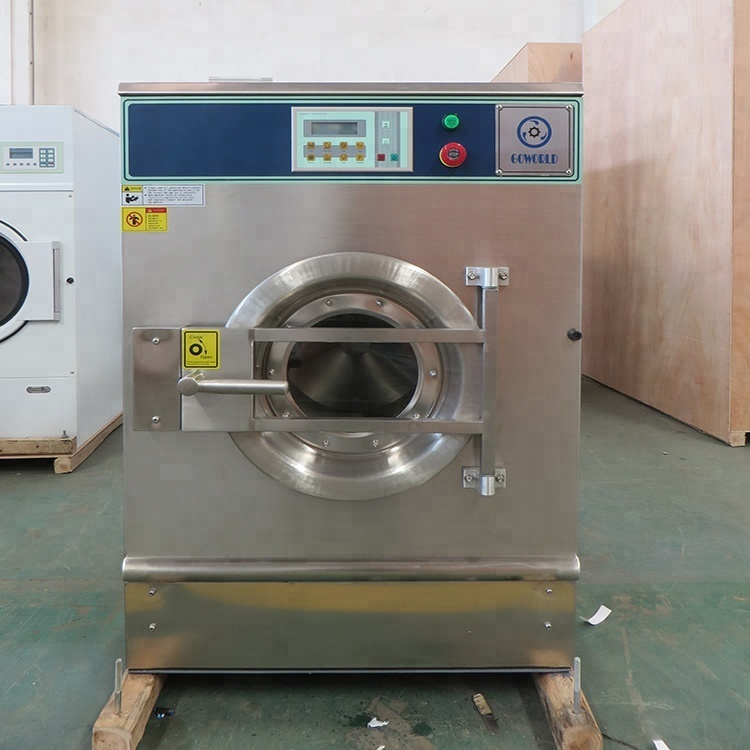 8kg steam heating industrial washer extractor
