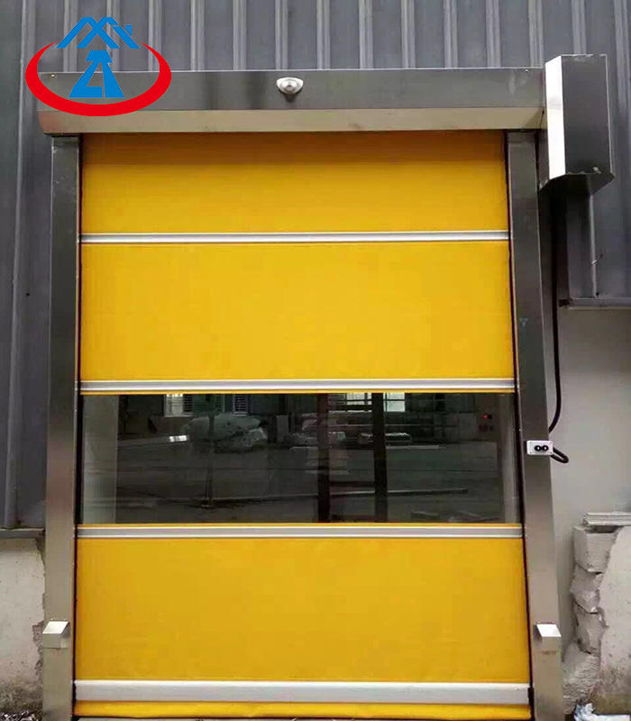 Pvc Fast Rolling Prices industrial Rapid Roll up door High Speed shutter Doors