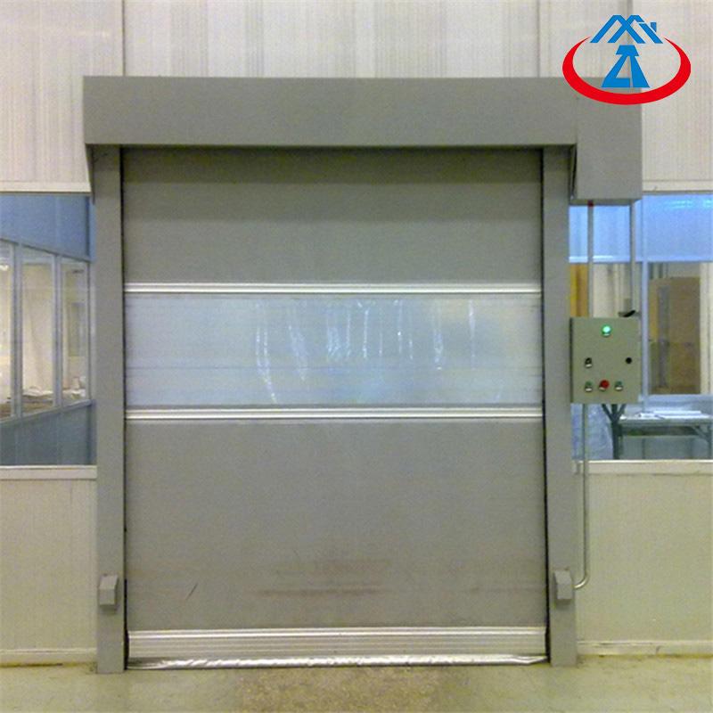 Cold storage room automatic rapid roller shutter doors roll up door price