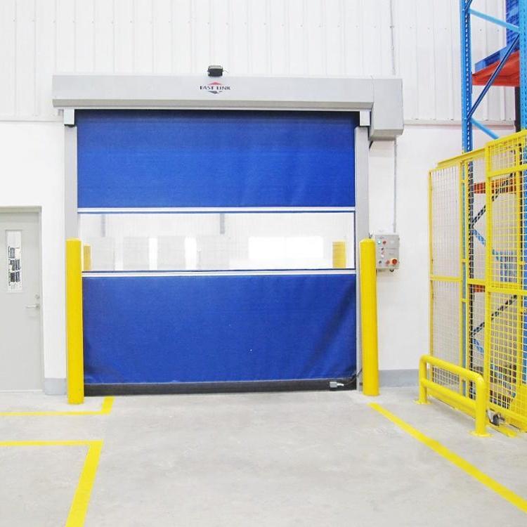 pvc High Speed Rolling Door for Industry Used Warehouse Entry door