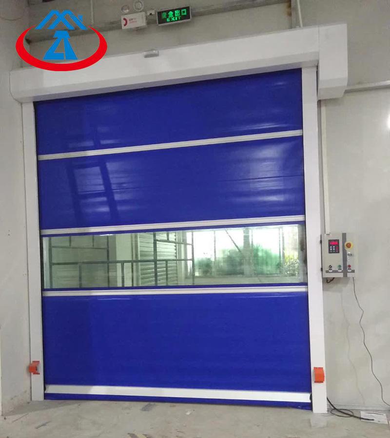 automatic radar sensor high speed door rapid rolling door fast door