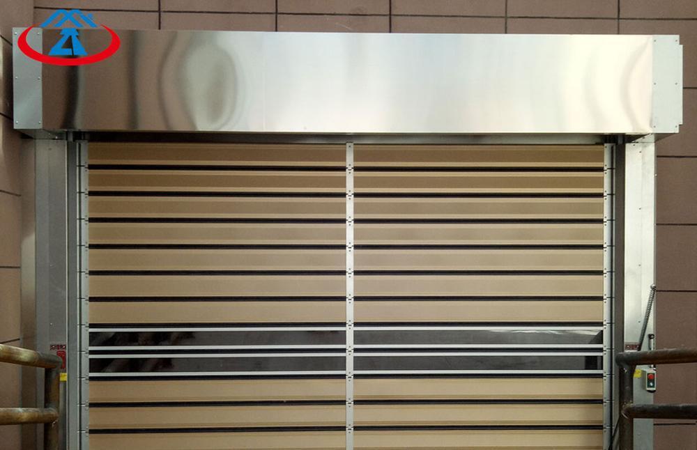 Aluminum Material PVC High Speed Shutter Door From China Manufacturer