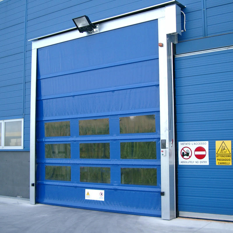 Automatic PVC Cold Room High Speed Shutter Fast Door