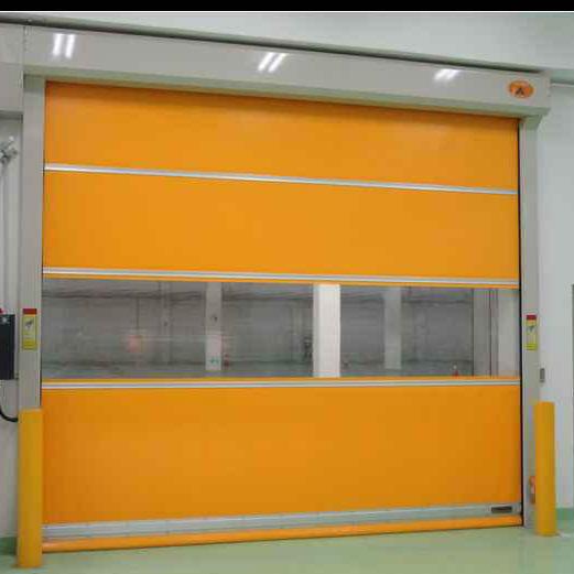 Good Sealing High Speed Roller Door Electric PVC roller shutter door Manufacturer