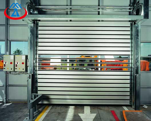 Aluminum Material PVC High Speed Shutter Door From China Manufacturer