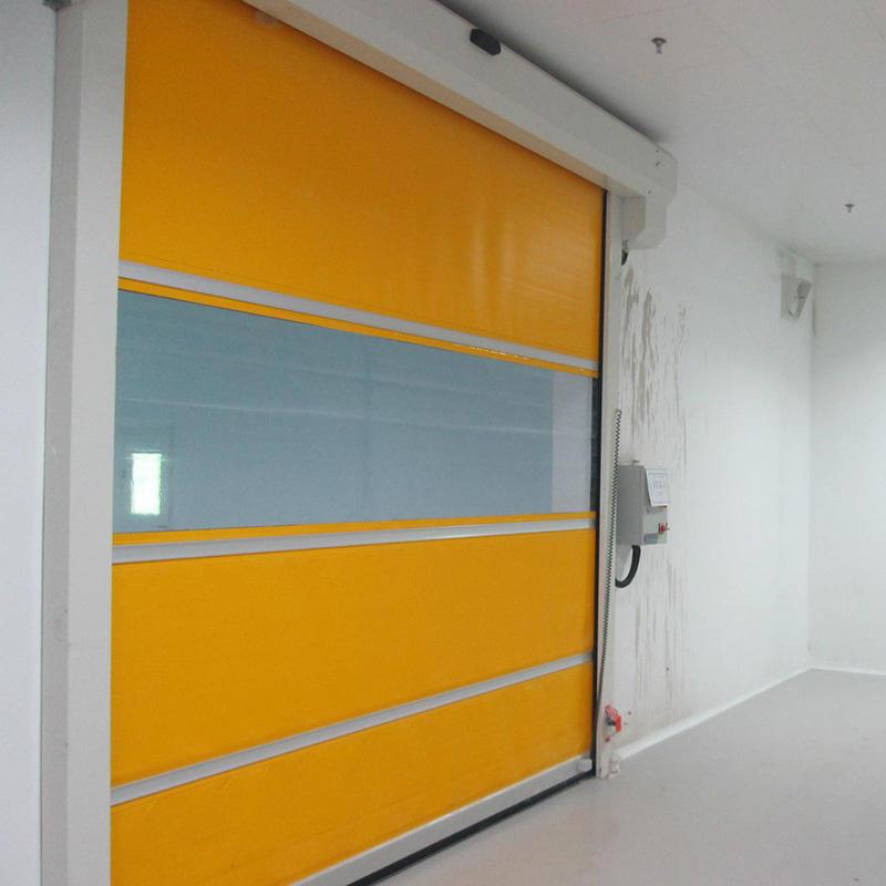 Pvc Fast Rolling Prices industrial Rapid Roll up door High Speed shutter Doors