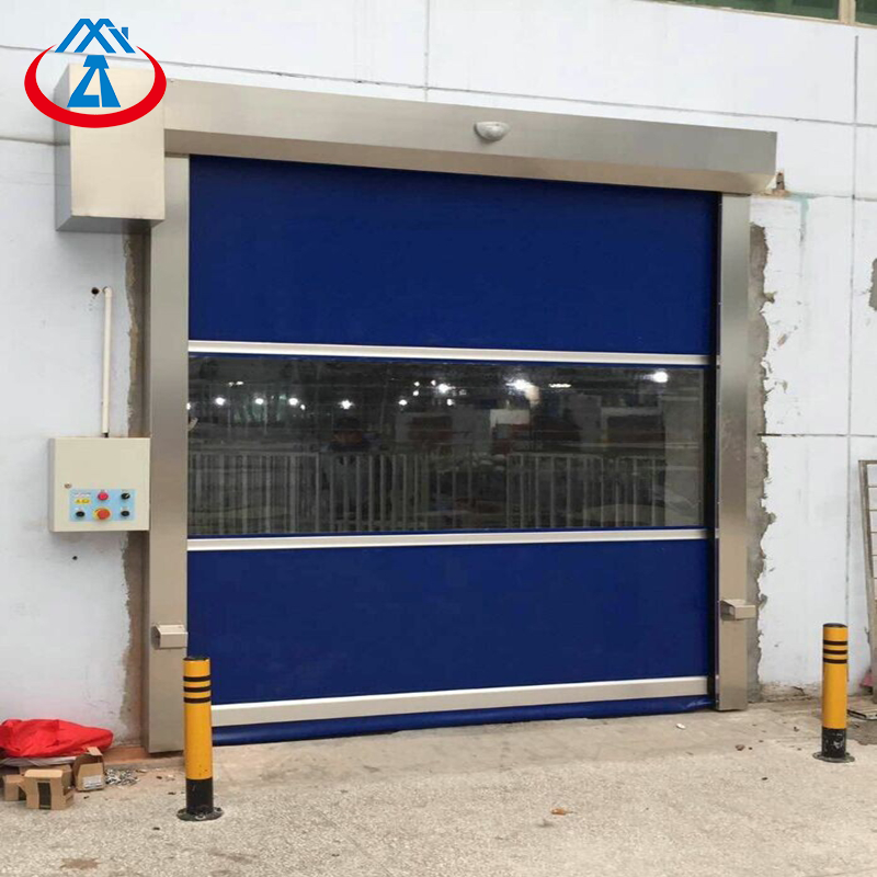 Factory Price Warehouse Industrial Rapid Roller Door PVC High Speed Shutter Door