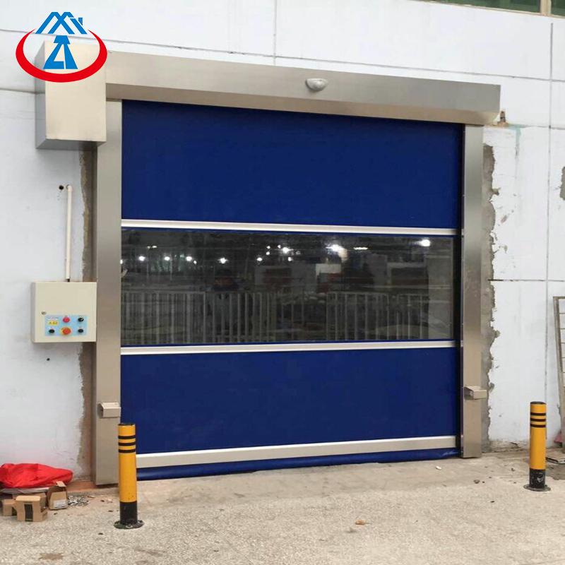 Factory Price Warehouse Industrial Rapid Roller Door PVC High Speed Shutter Door
