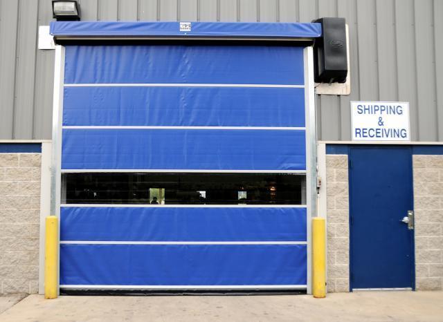 Industrial PVC High Speed Roller Up Door Fast Shutter Door