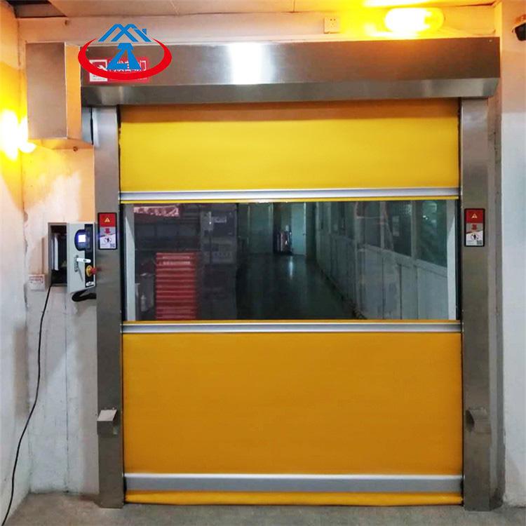 ManufacturerPVC high speed rolling shutter door Fast Rolling Door for sale