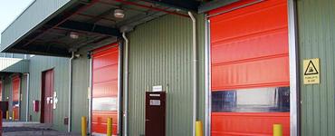 Guangzhou Wholesales PVC High Speed Roller Shutter Door For Hot Sales