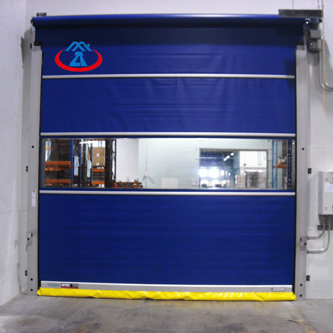 Industrial PVC High Speed Roller Up Door Fast Shutter Door