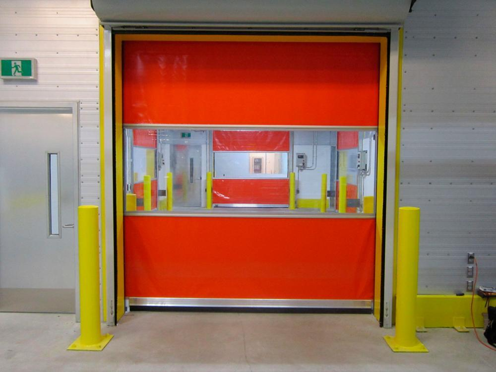 Rolling Open Style and Industrial Position high speed door