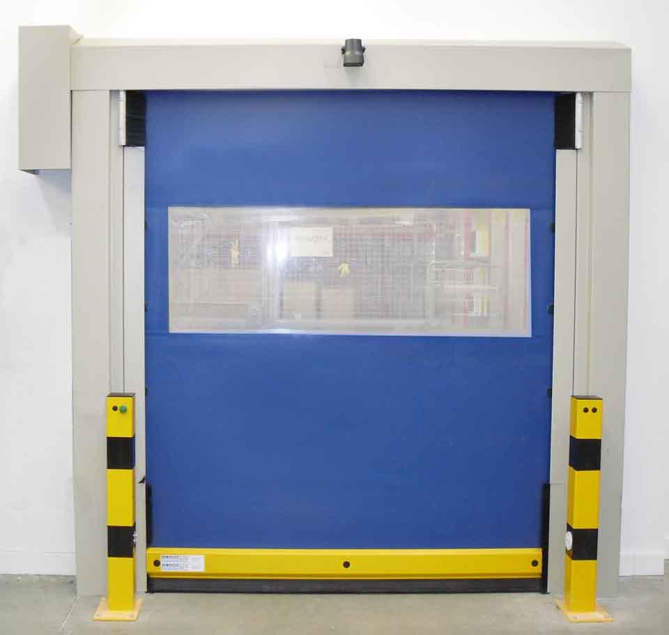 Blue Fast PVC Shutter Door Plastic Roller Shutter for freezing or food