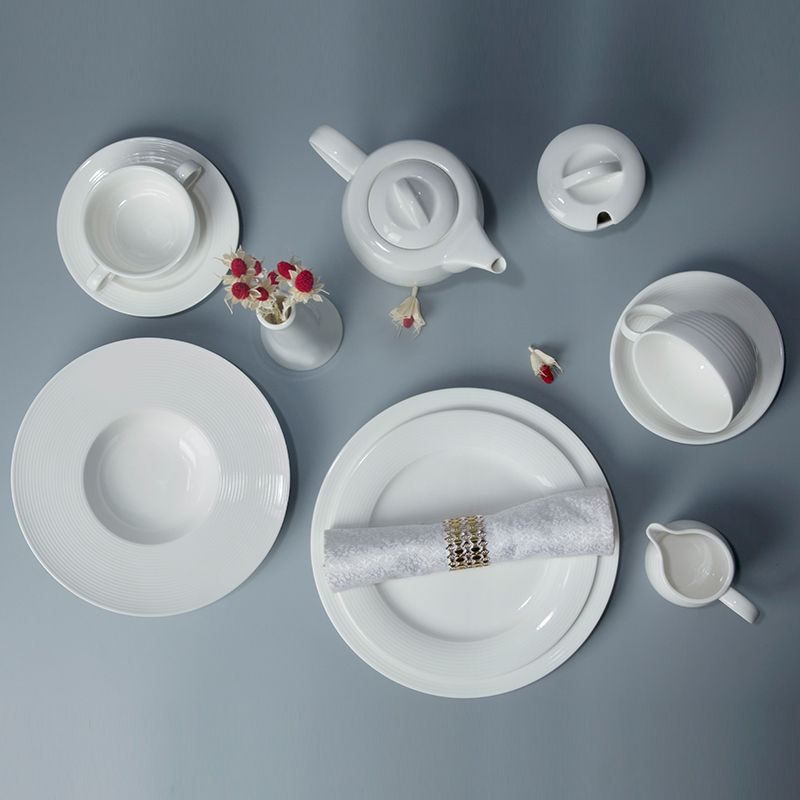 latest hotel restaurant wedding event banquetbest seller popular crockery dinner set