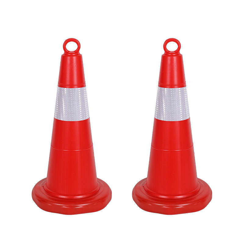 Hot sale road work cones traffic cones safety sign PE traffic cone