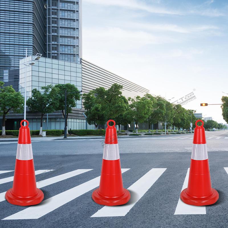 ALLTOP Traffic Cone Traffic Cone Red PE Traffic Road Safety Cone