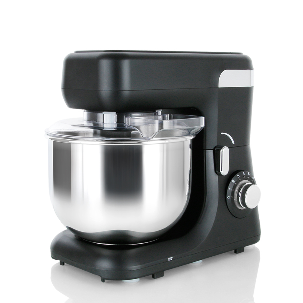 Food Stand Mixer, MURENKING Series MK-55, 1200Watt Strong Power, Low Noise5.5 Liter, Black