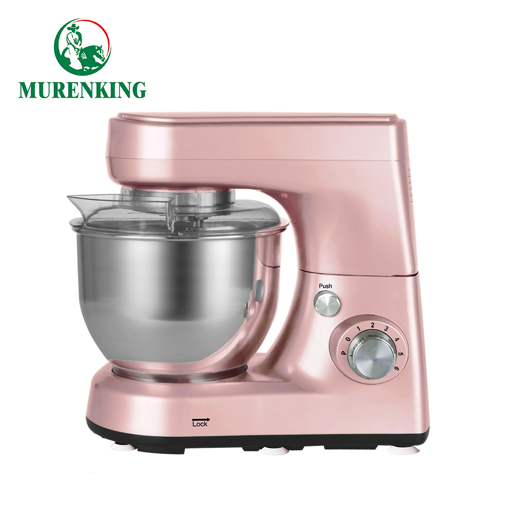 Small kitchen kneading machine cake baking stand food mixer High-performance 5 Quart Button 1200 watt MK-52