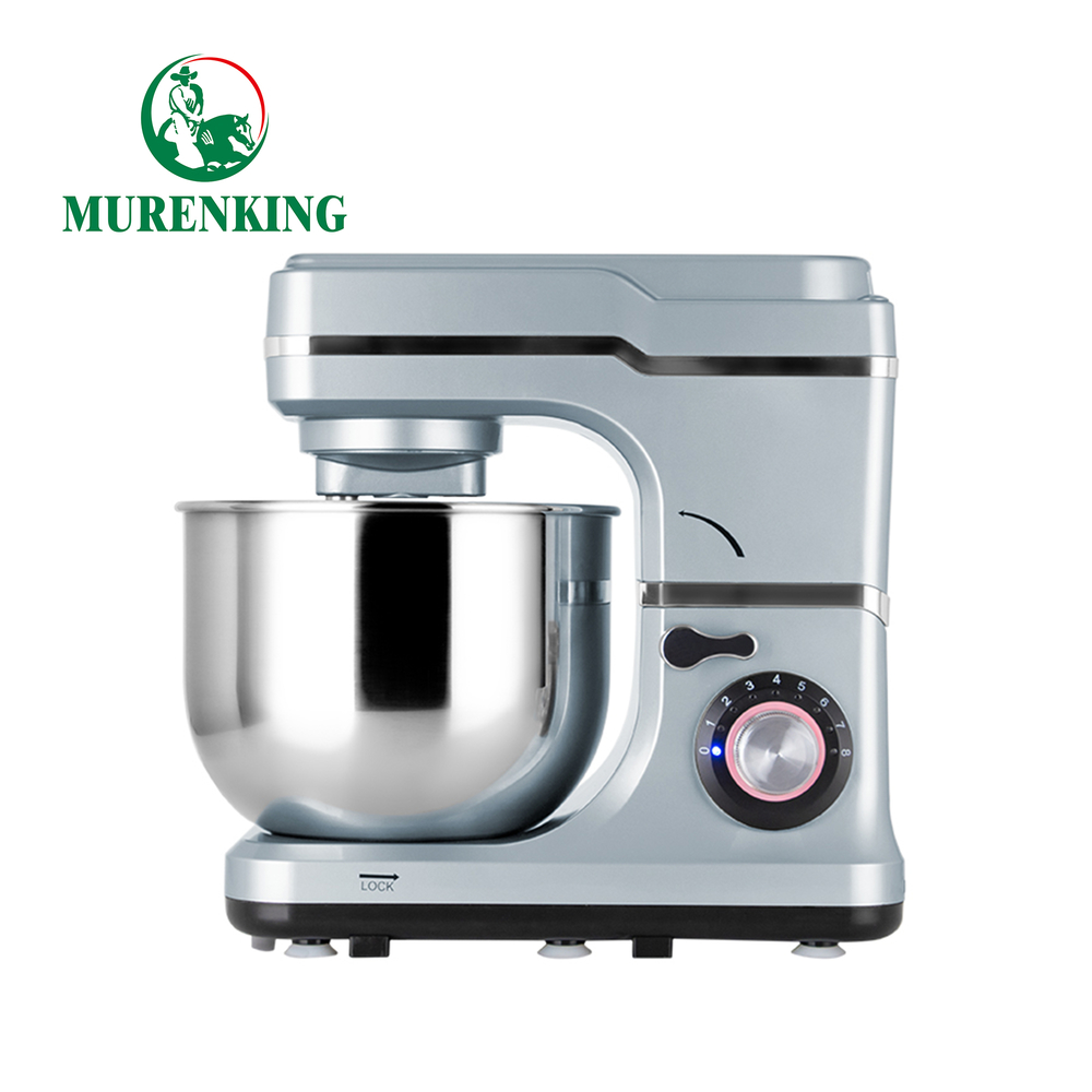 1200W bread dough mixer 6L stainless steel mixing bowl stand mixer