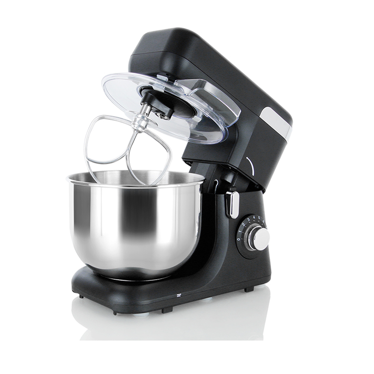 New design electric food stand mixer with rotating bowl 5.5L kitchen mixer