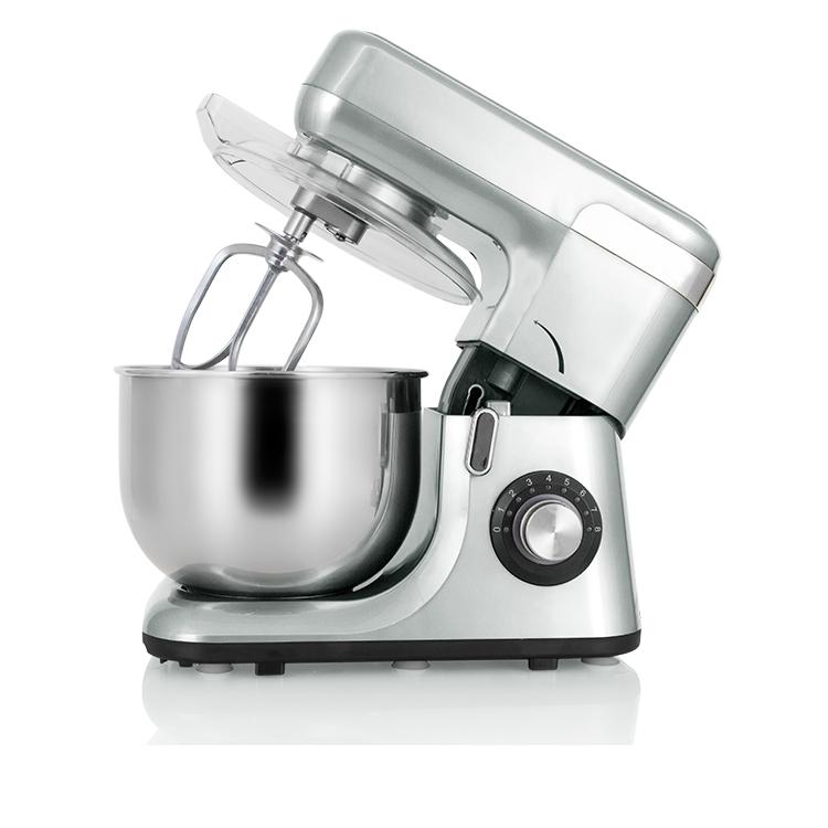 5.5L 1200W vertical kitchen dough plastic electric food mixer