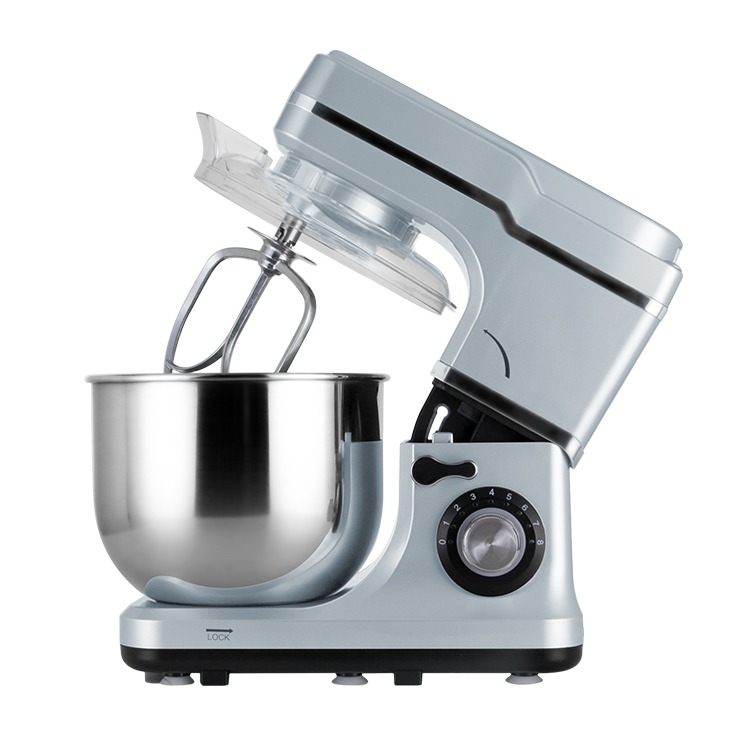 Multi-function stainless steel 6 speeds adjustable stand up mixer food planetary with 12 months warranty