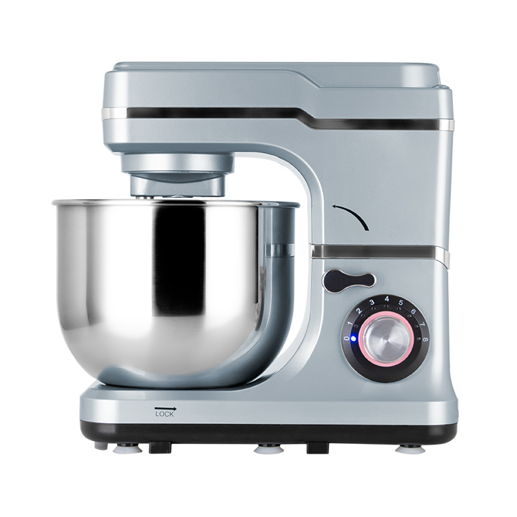 8 speed settings stand mixer power bread dough mixer
