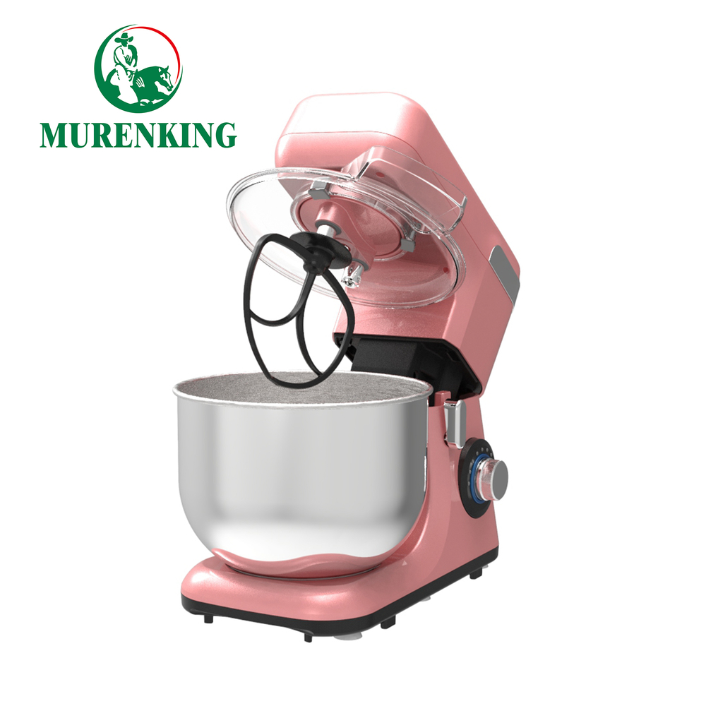 5.5LStainless Steel bowl Planetary Cake Dough Mixer Machine / Egg Stand Mixer