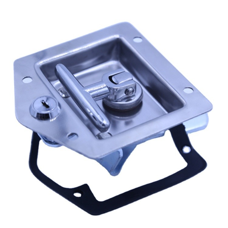 high qualitystainless steel truck paddle lock handle latch for tool box