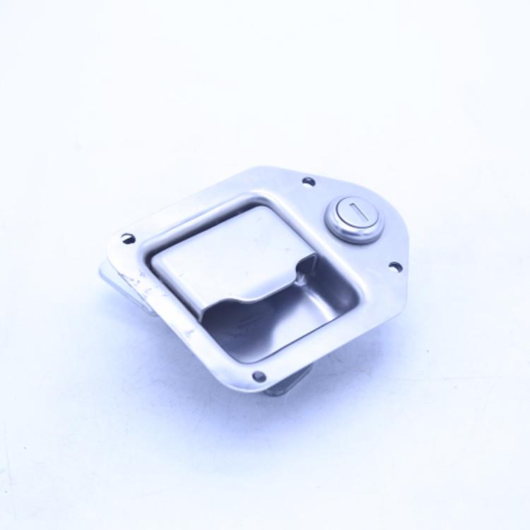 Heavy Paddle Lock Truck Door Handle Lock-012013-in Stainless Steel Pallet 012013-in Polished 0.214kg CN;SHG Locks TBF