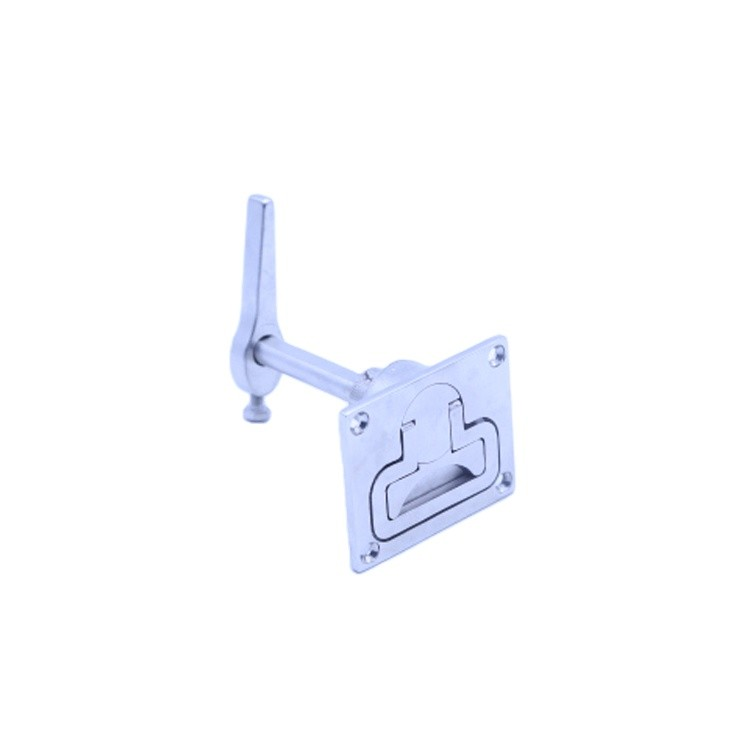 China STAINLESS STEEL TOOL BOX LOCK PADDLE LATCH & KEYS FOR TRAILER / YACHT / TRUCK
