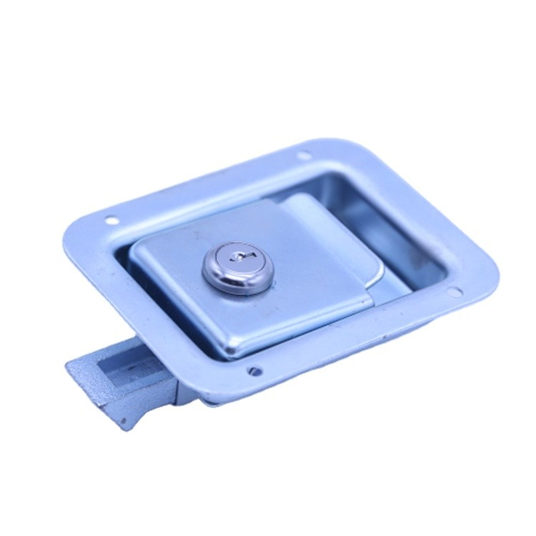 high safestainless steel truck paddle lock handle latch for tool box