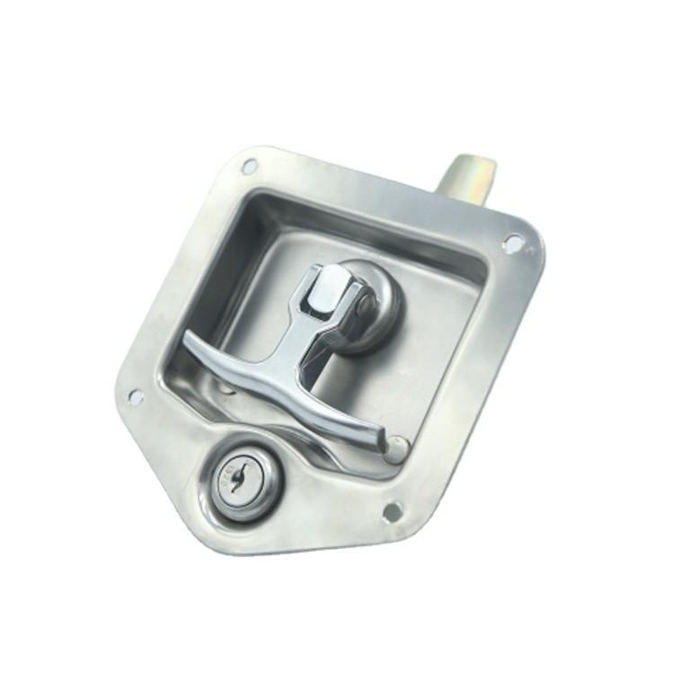 Paddle Lock Stainless Steel Heavy Paddle Lock Truck Door Handle Lock-012008