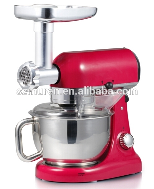 2016 HOT SELLING 1000W MULTI-FUNCTION STAND MIXER IN NEW DESIGN