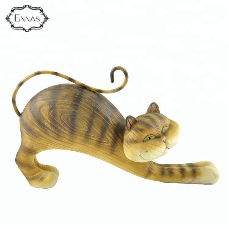 2020 New Product Polyresin Cat Themed Home Decor Cat Lovers