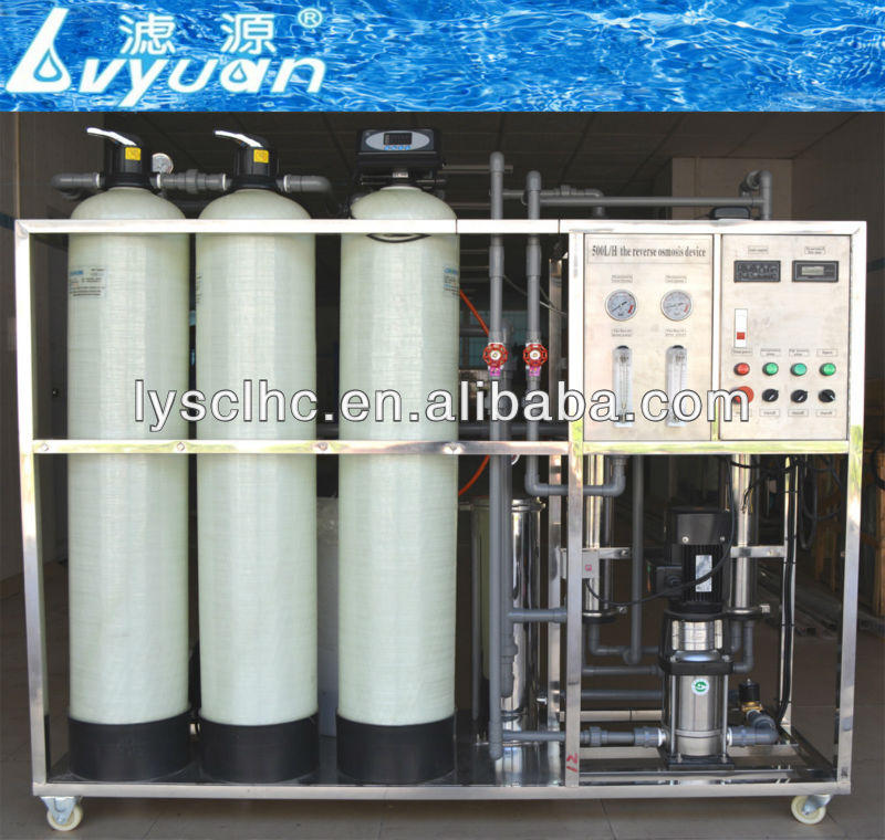 500/5000L/H well water treatment reverse osmosis ro plant/system with factory price
