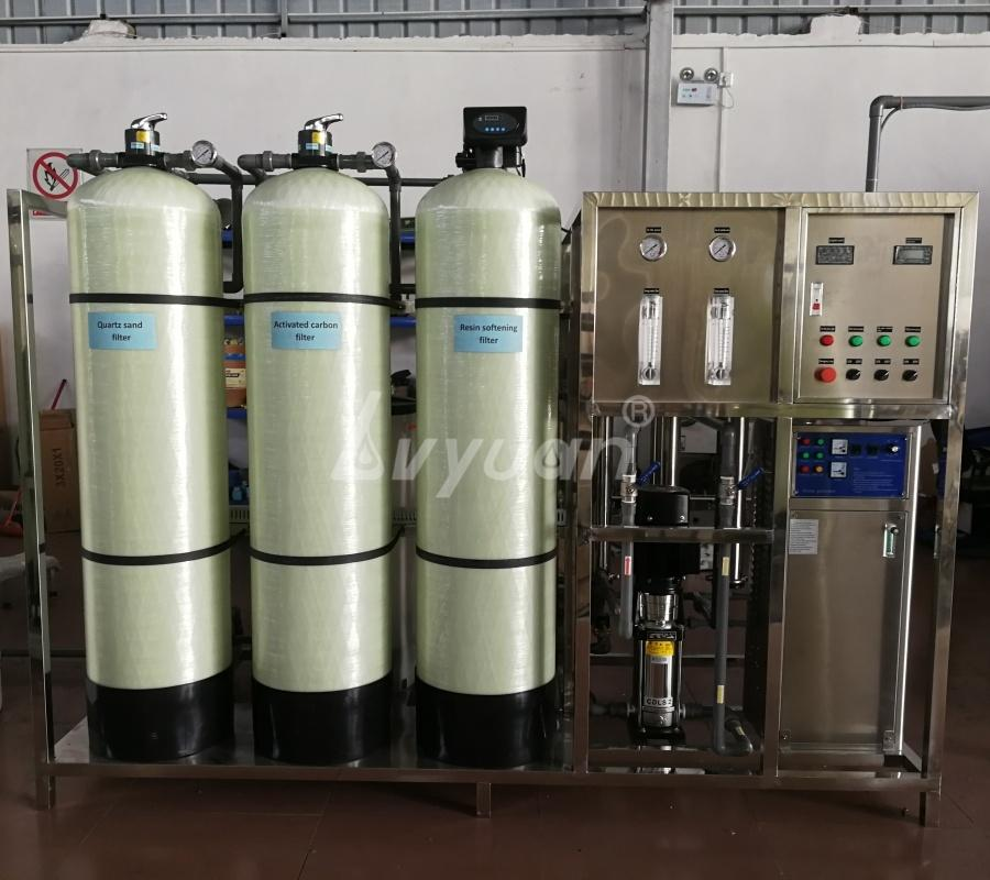 Factory Price 1000LPH RO Plant Reverse Osmosis System for Borehole/underground/Tap/brackish/Sea Water Machine