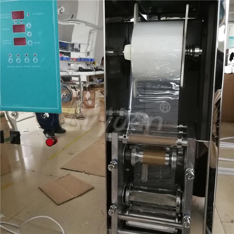 Guangzhou Factory Price Automatic Plastic Bag Water Filling Sealing Packing Machine
