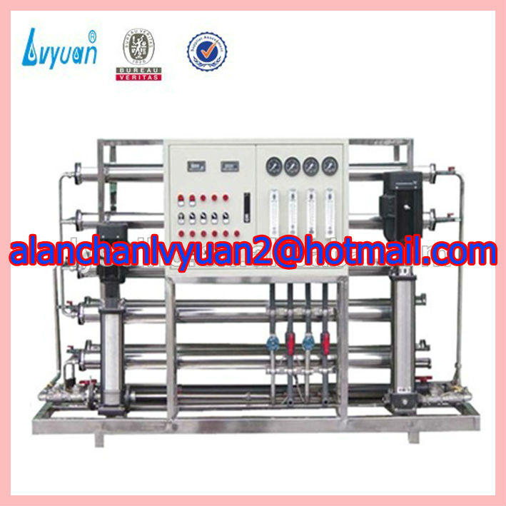 Stainless steel RO pure machine/drinking water treatment process