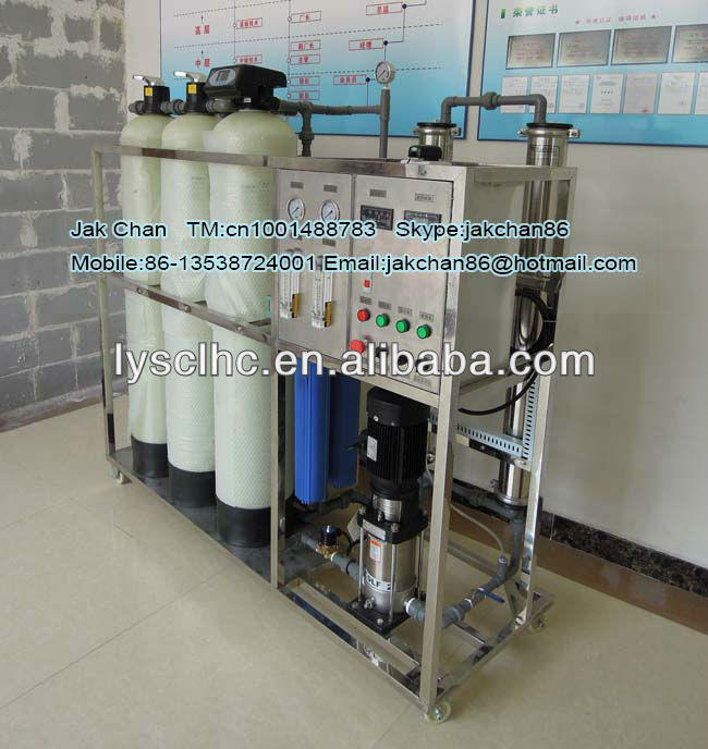 Ro Water Plant 1000L for Large-scale Project/Desalination 1000L Ro Water Plant drinking water Project