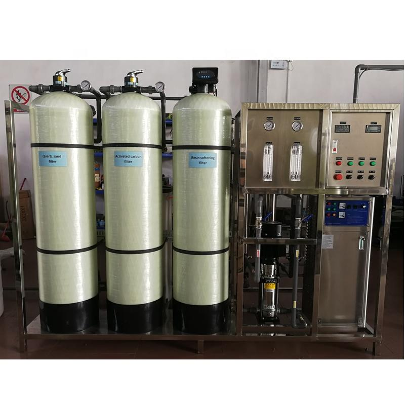 Industrial RO water plant price for 2000 liter of Reverse Osmosis 2000 LPH System